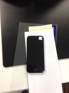 iPhone5 ガラス割れ 正式対応!